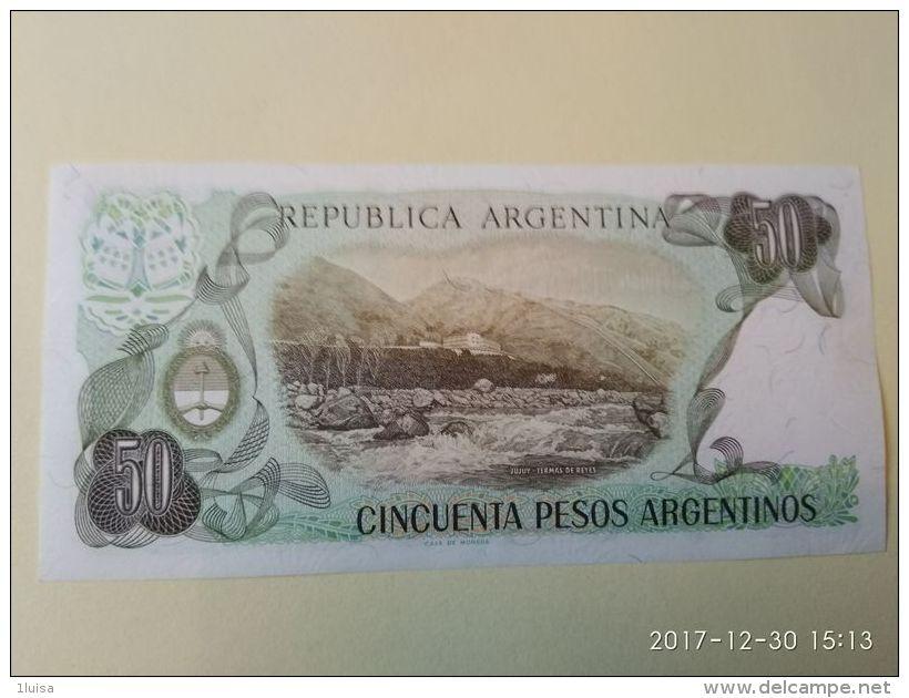 50 Pesos 1983 - Argentina