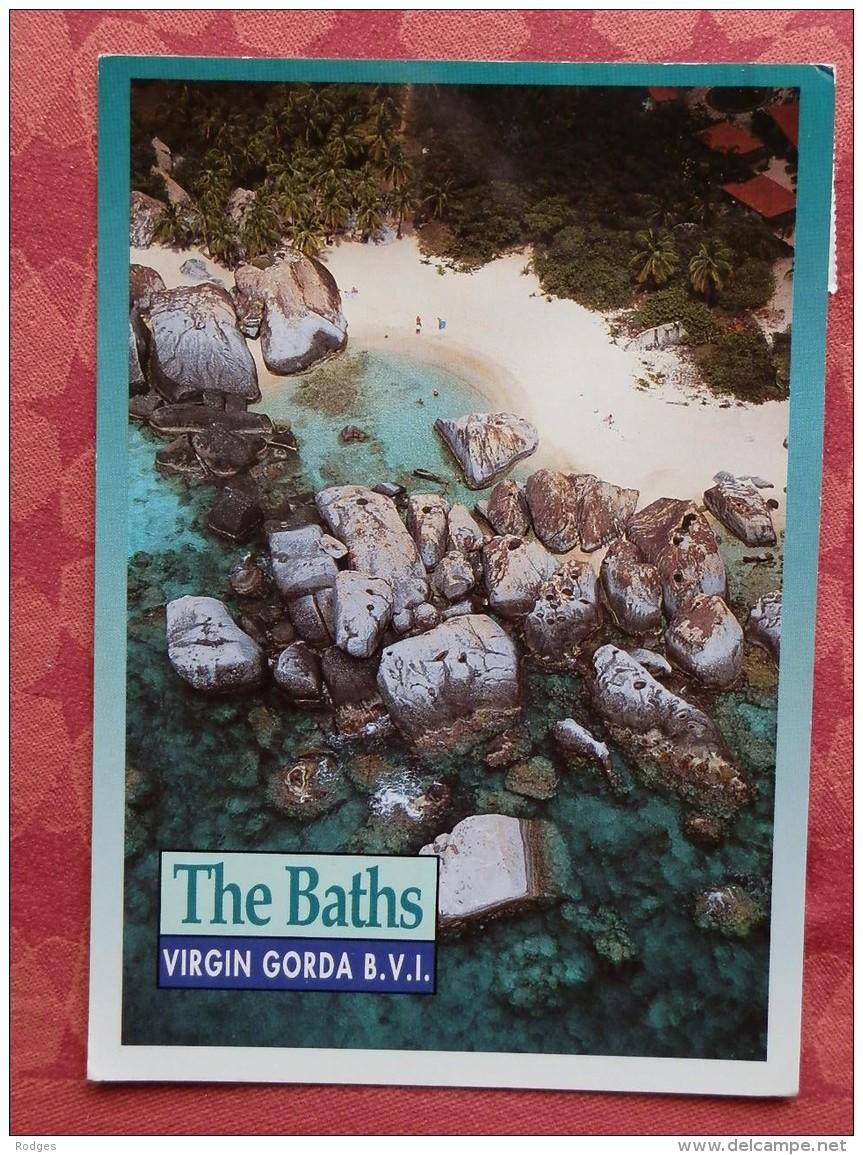 Cpm  The BATHS , VIRGIN GORDA , British Virgin Islands (beaux Timbres) (11.9050558) - Vierges (Iles), Britann.