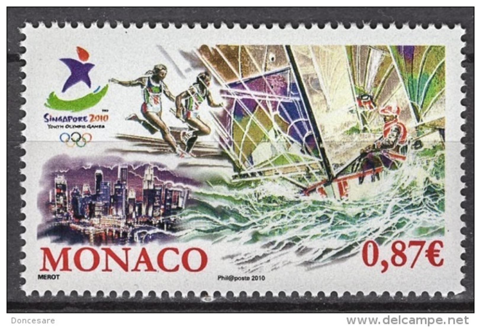 MONACO 2010  - Y.T. 2745 - NEUF** - Monaco