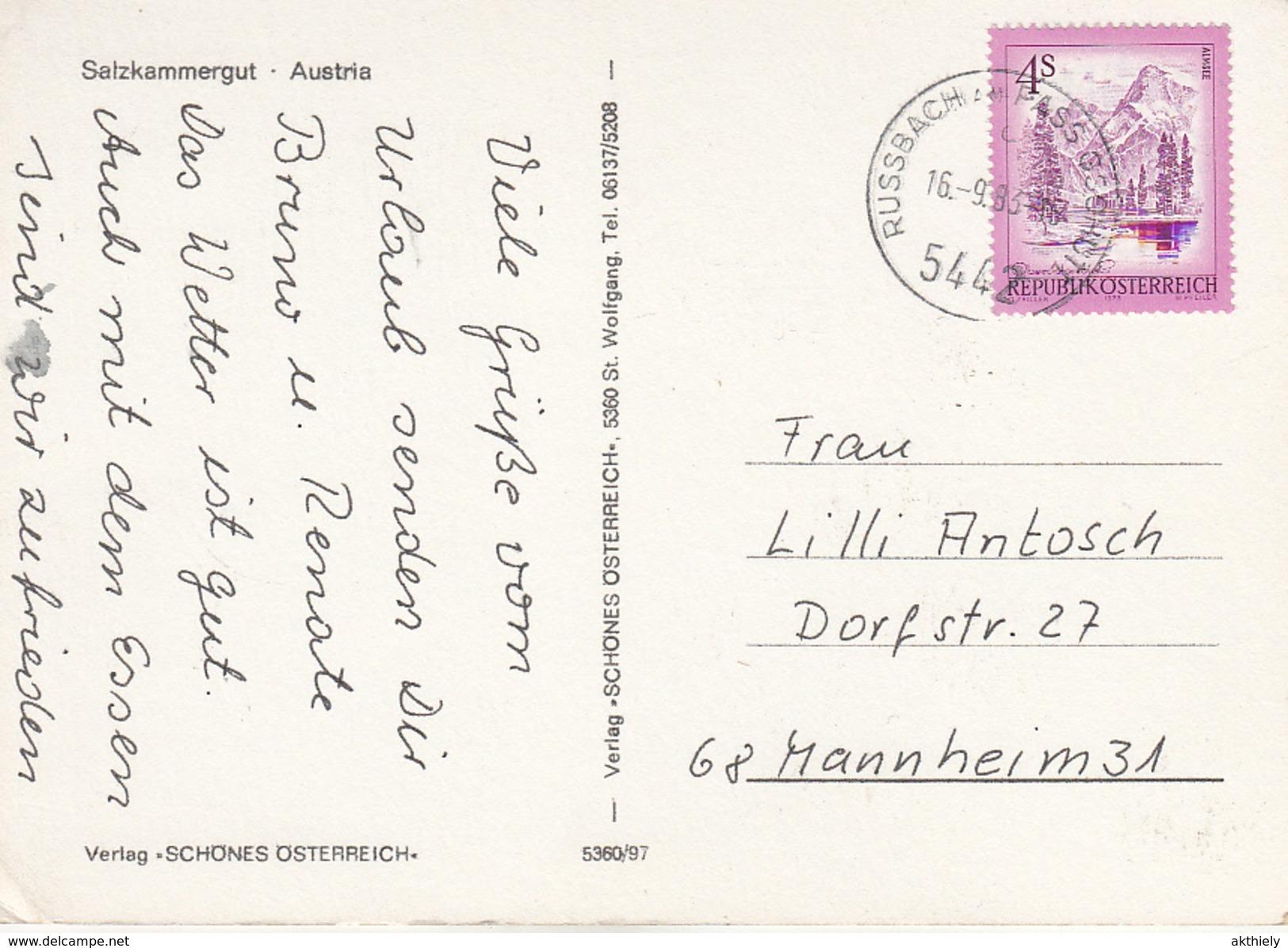 Salzkammergut Ak121972 - Autriche