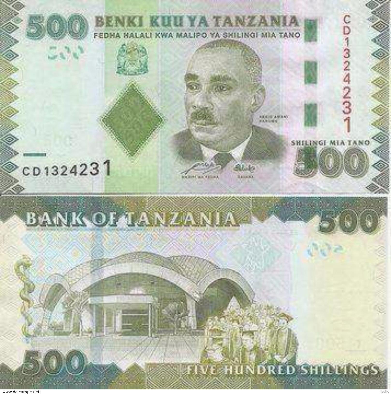 Tanzania  P-40  500 Shilingi 2010  UNC - Tansania