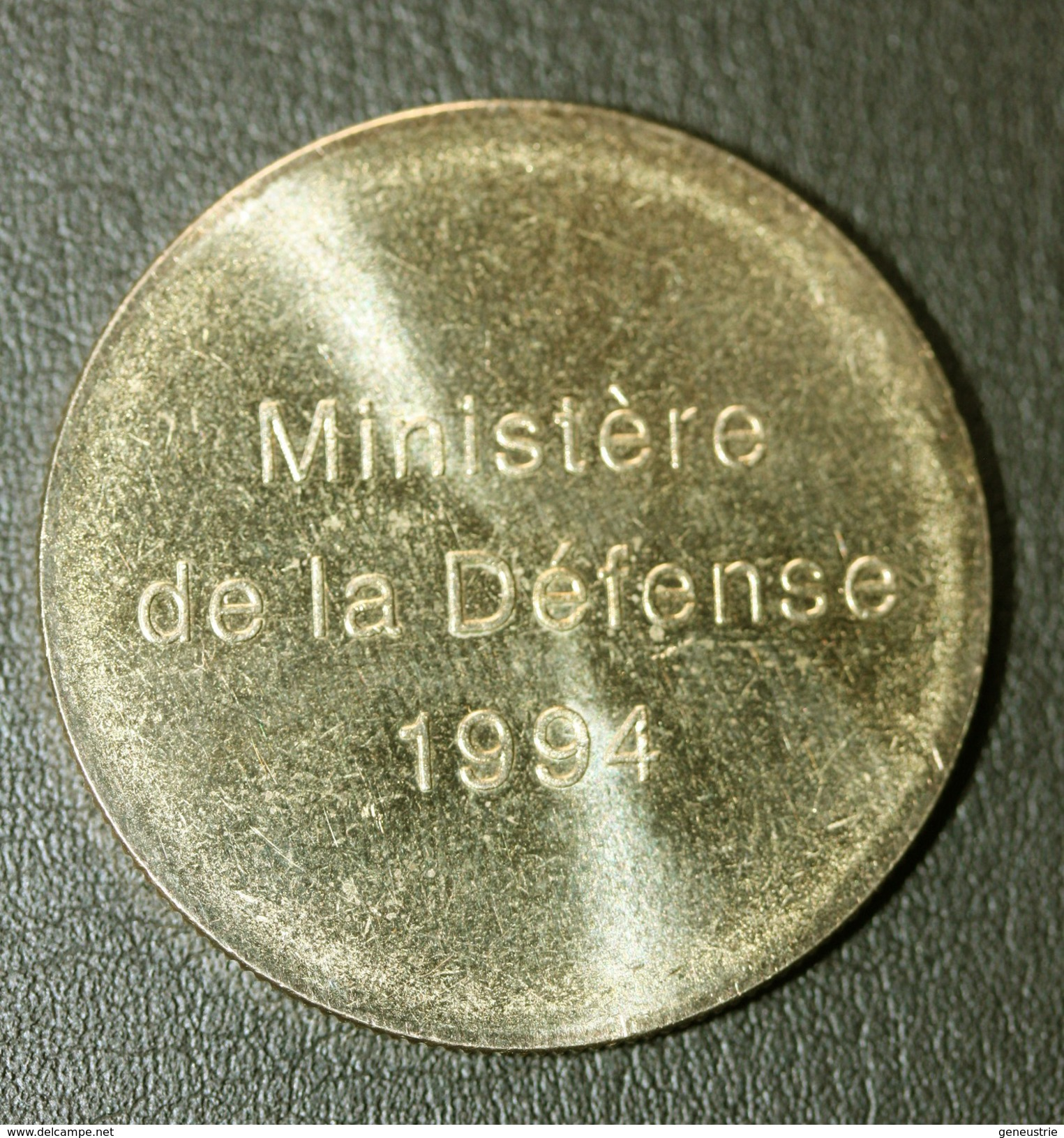 """WWII Jeton """"50e Anniversaire Des Débarquements Et De La Libération De La France / Ministère De La Défense 1994"""" WW2 - Monnaie De Paris"""