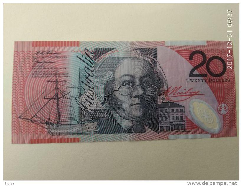 20 Dollari - 1974-94 Australia Reserve Bank (paper Notes)