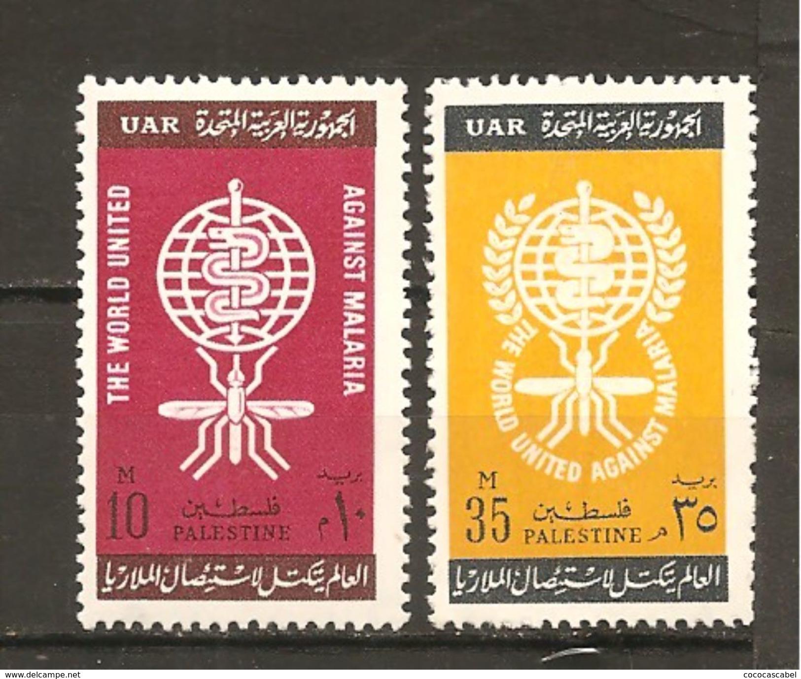 Palestina. Nº Yvert  86-87 (MNH/**) - Palestina