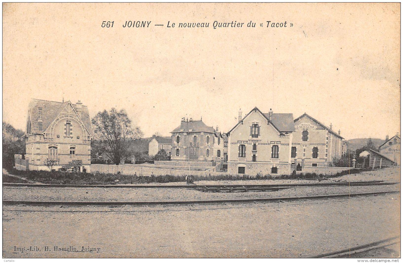 89-JOIGNY-N°434-D/0201 - Joigny