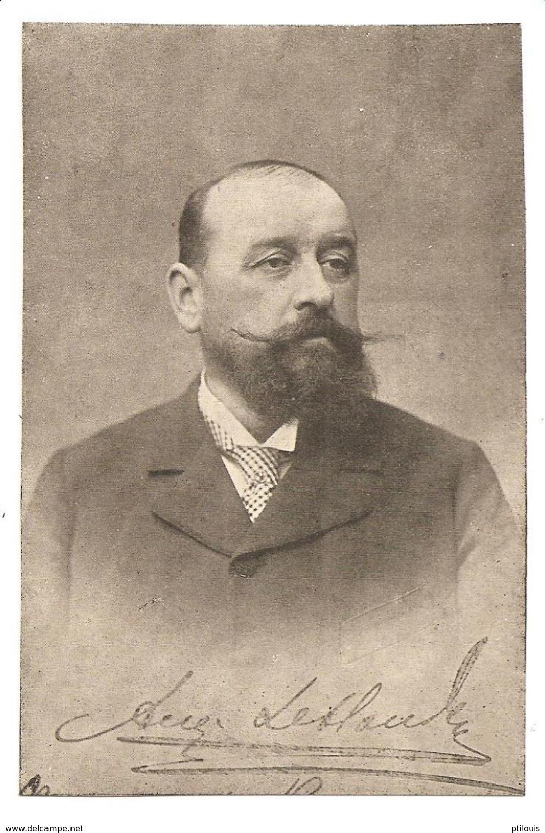 ROUEN - Auguste LEBLOND - Maire De Rouen De 1902 à 1914 Et De 1914 à 1919 - (Image Découpée) - Rouen