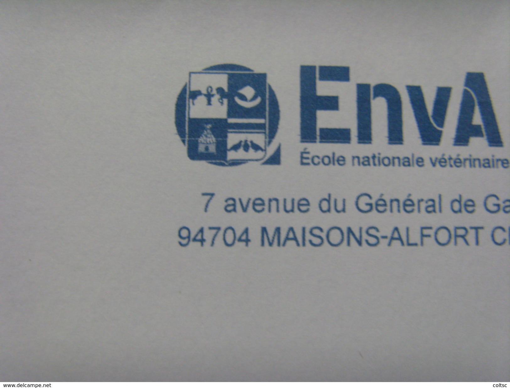 17231- EMA Ecole Nationale Vétérinaire D'Alfort (Val De Marne) Thème Ruche, Cheval, Oiseaux - Abeilles