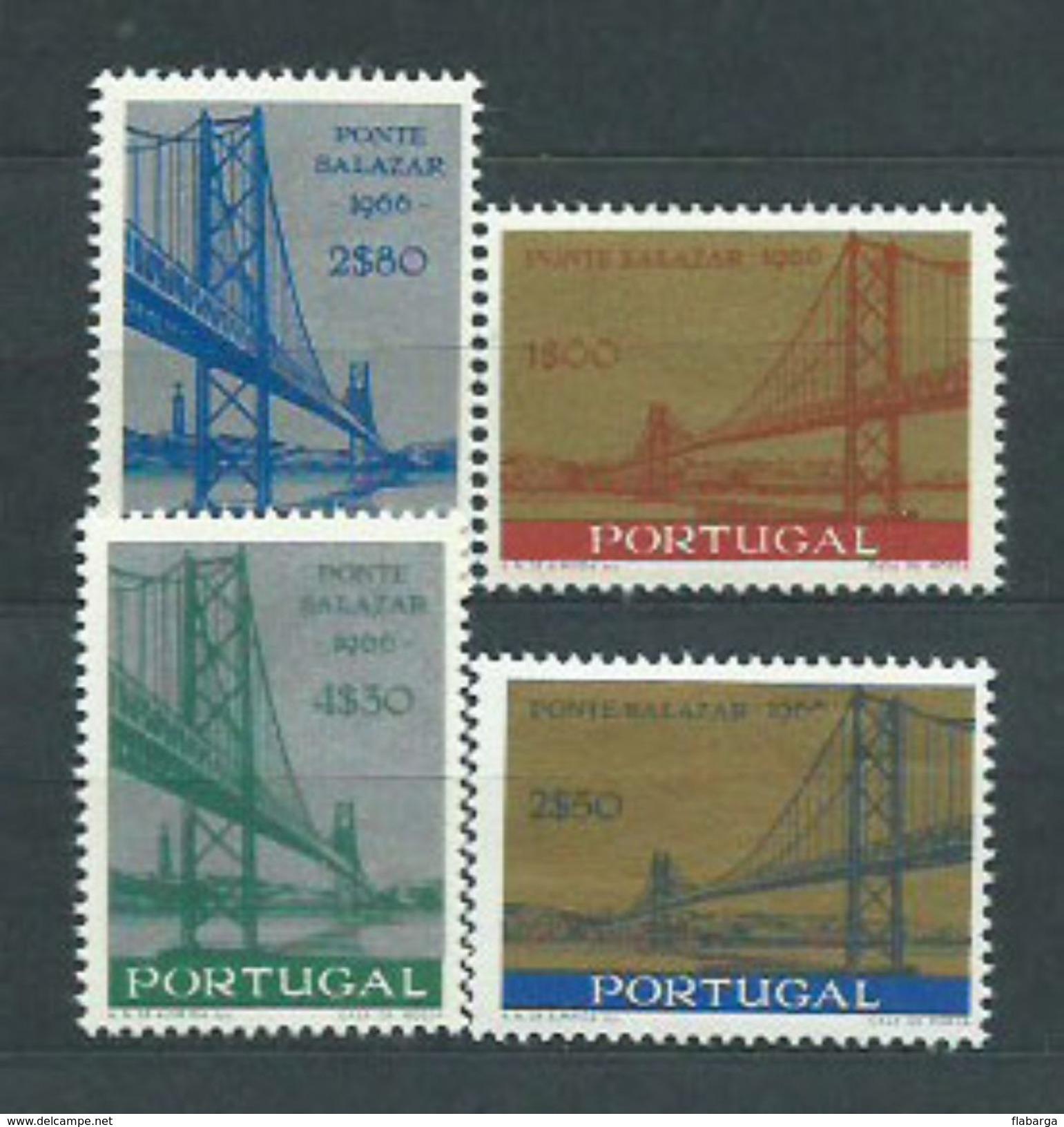Año 1966 Nº 989/2 Inauguracion Del Puente Salazar - Nuevos