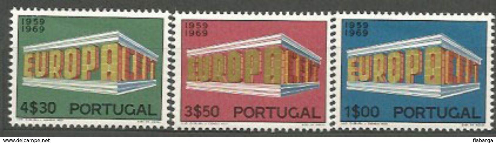 Año 1969 Nº 1051/3 Europa - Nuevos
