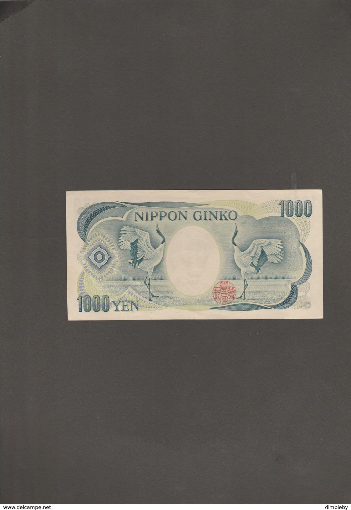 Nippon Ginko 1000 Yen - Japan