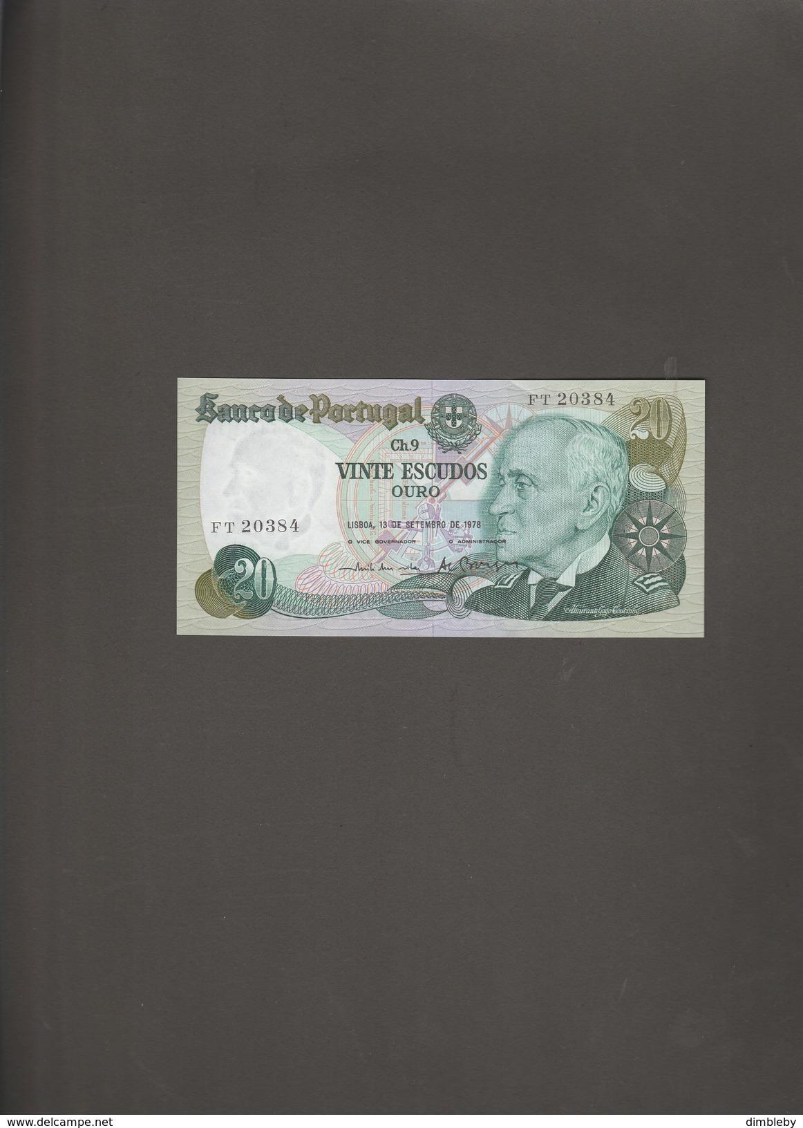 20 Escudos 1978 - Portugal