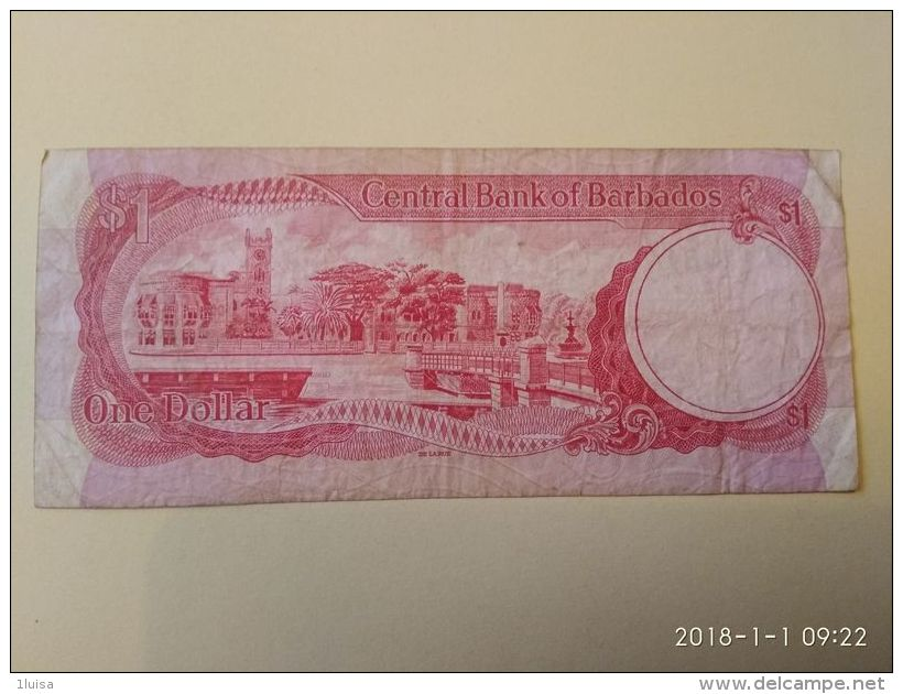 1 Dollaro 1973 - Barbados