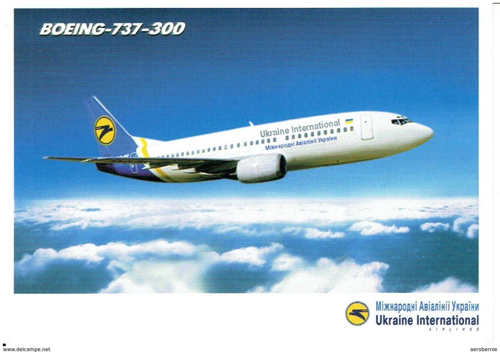 Ukraine International Airlines / Boeing 737-300  (Airline Issue) - 1946-....: Moderne