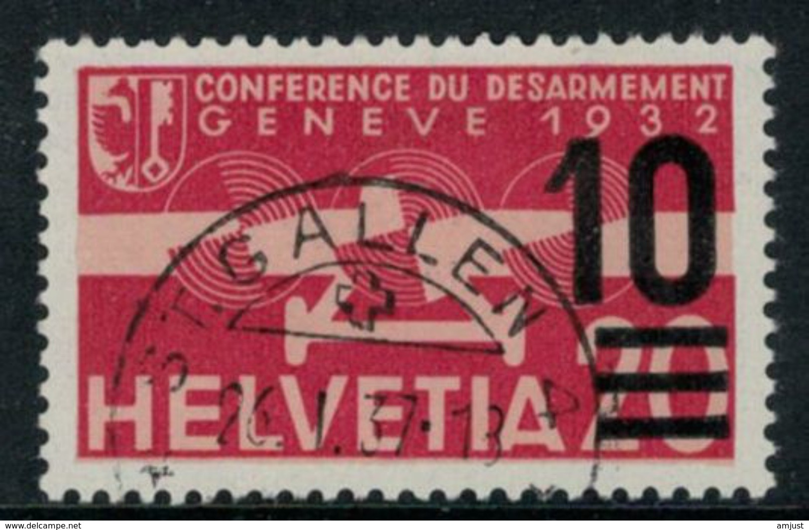 Suisse /Schweiz/Svizzera/Switzerland // Poste Aérienne //  1935/38 No.21 - Poste Aérienne