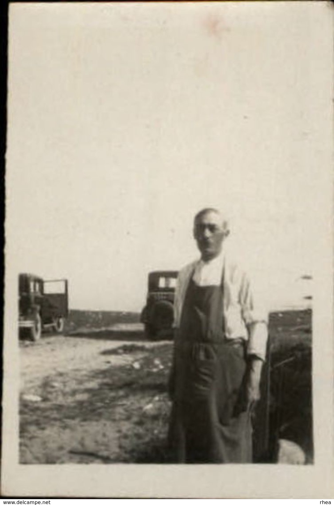 PHOTO - Brabant, Chauffeur De Clémenceau - 1930 - Personnes Identifiées