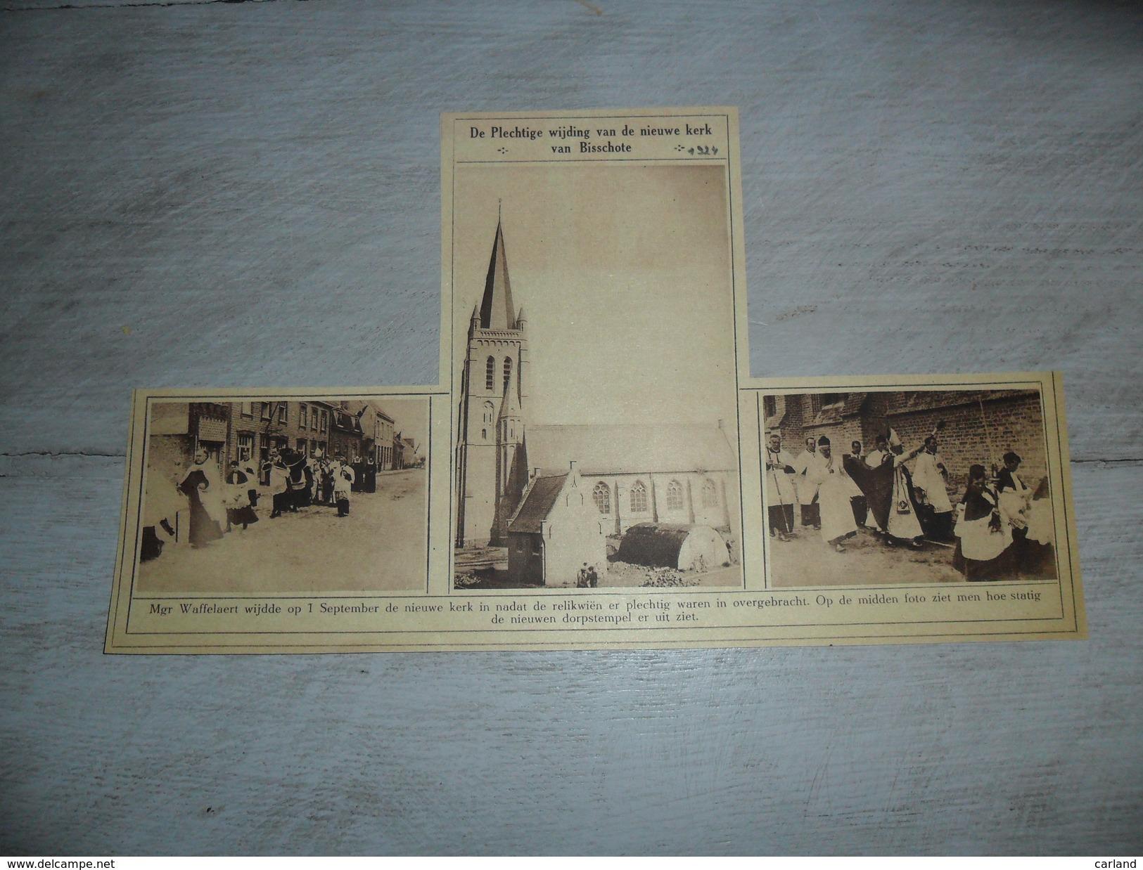 Origineel Knipsel ( 999 ) Uit Tijdschrift :    Bixschoote  Bikschote  1924 - Ohne Zuordnung