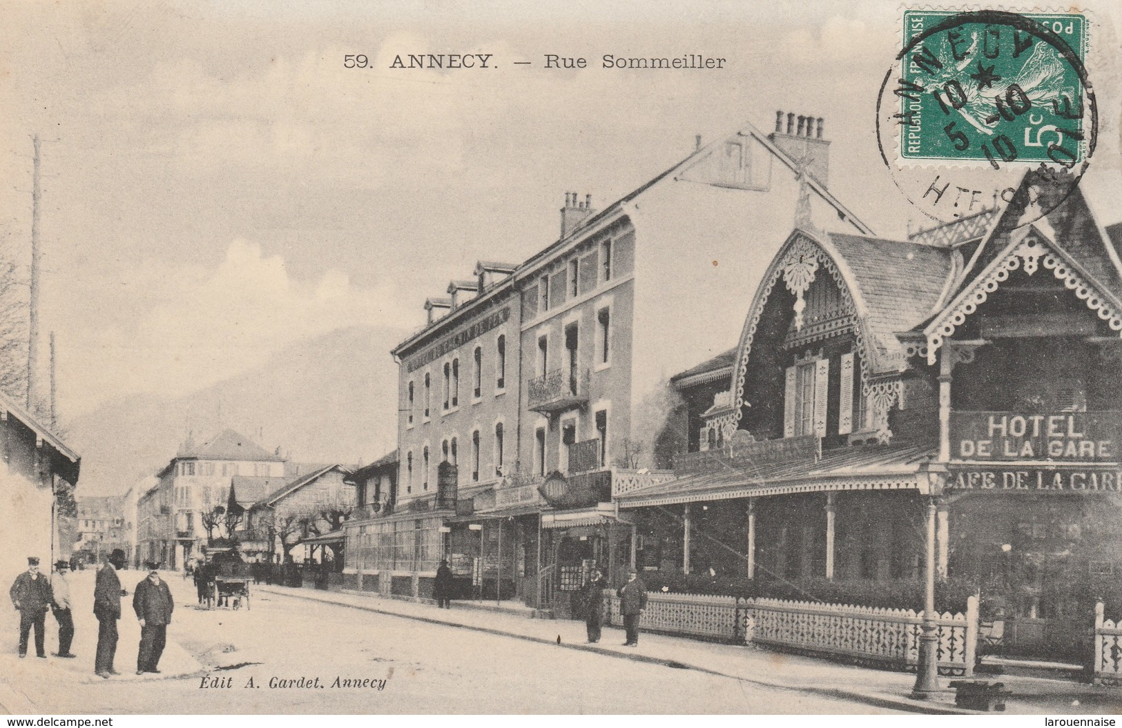 74 - ANNECY - Rue Sommelier - Annecy