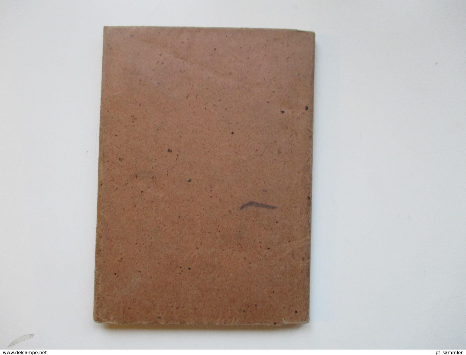Schulbuch 1949 Formeln Und Tabellen Für Das Metallgewerbe. Gebrüder Jänecke Buchverlag Hannover. Viele Abbildungen!! - Schulbücher