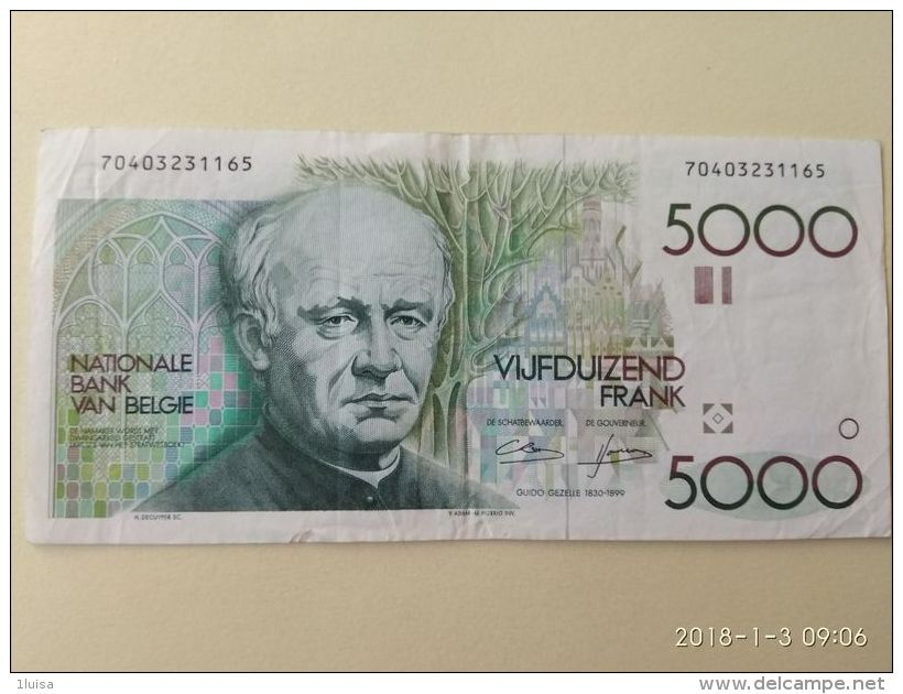 5000  Franchi 1982-94 - Belgio