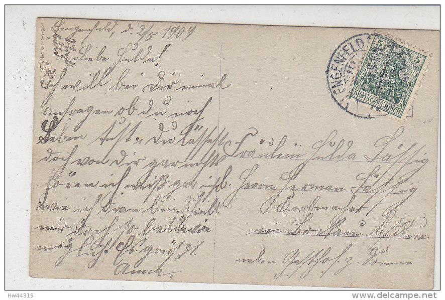 Zwei Kinder - Er Im Matrosenanzug, Sie Im Rosa Kleidchen .. 1909 Aus Lengenfeld - Portraits