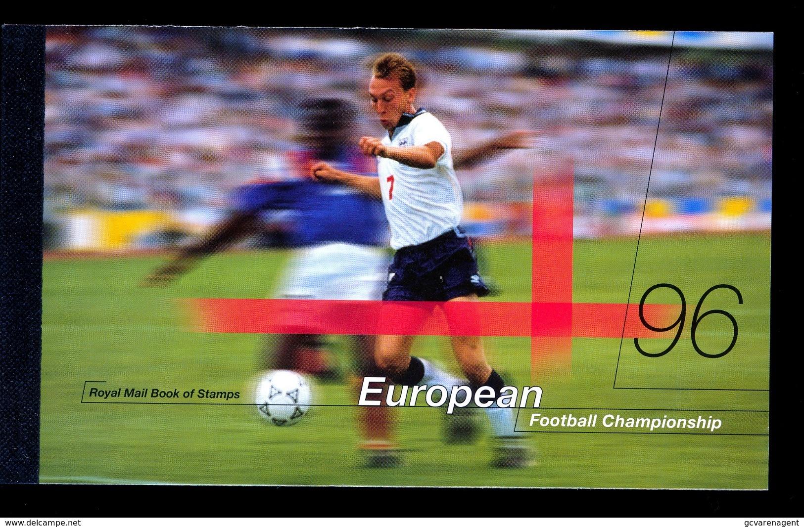 "GREAT BRITAIN -1996- ""European Football Championship"" -Prestige Booklet - Booklets"