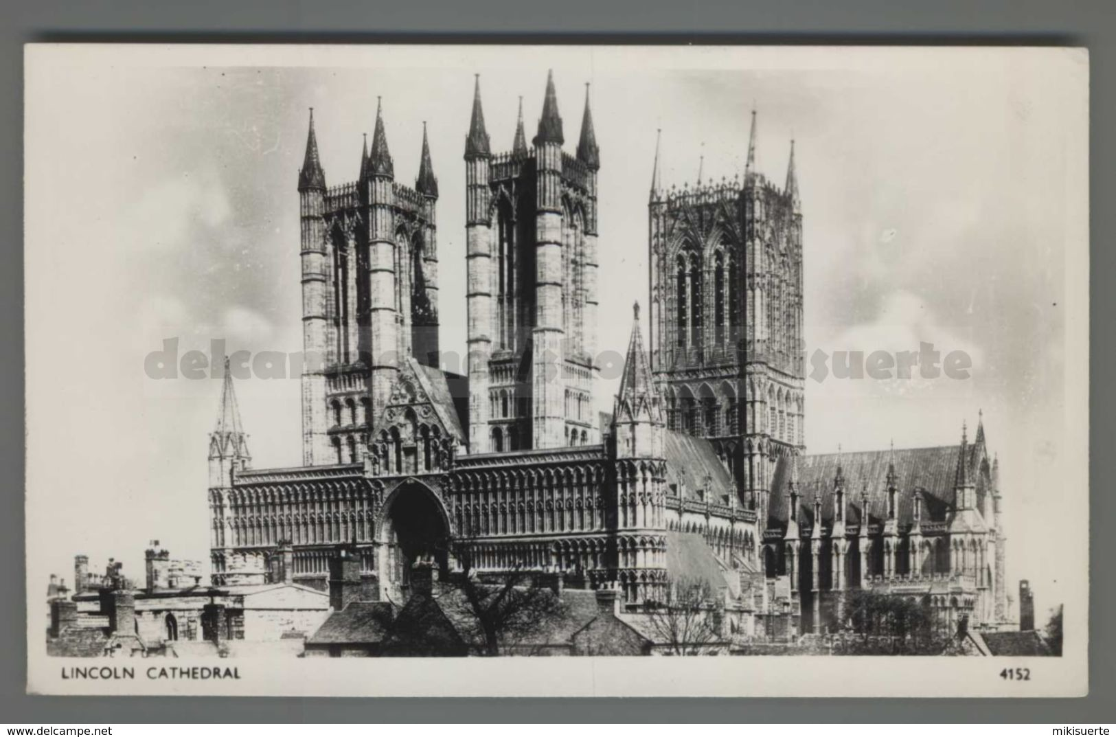 V2553 LINCOLN CATHEDRAL Lincolnshire FP (m) - Lincoln