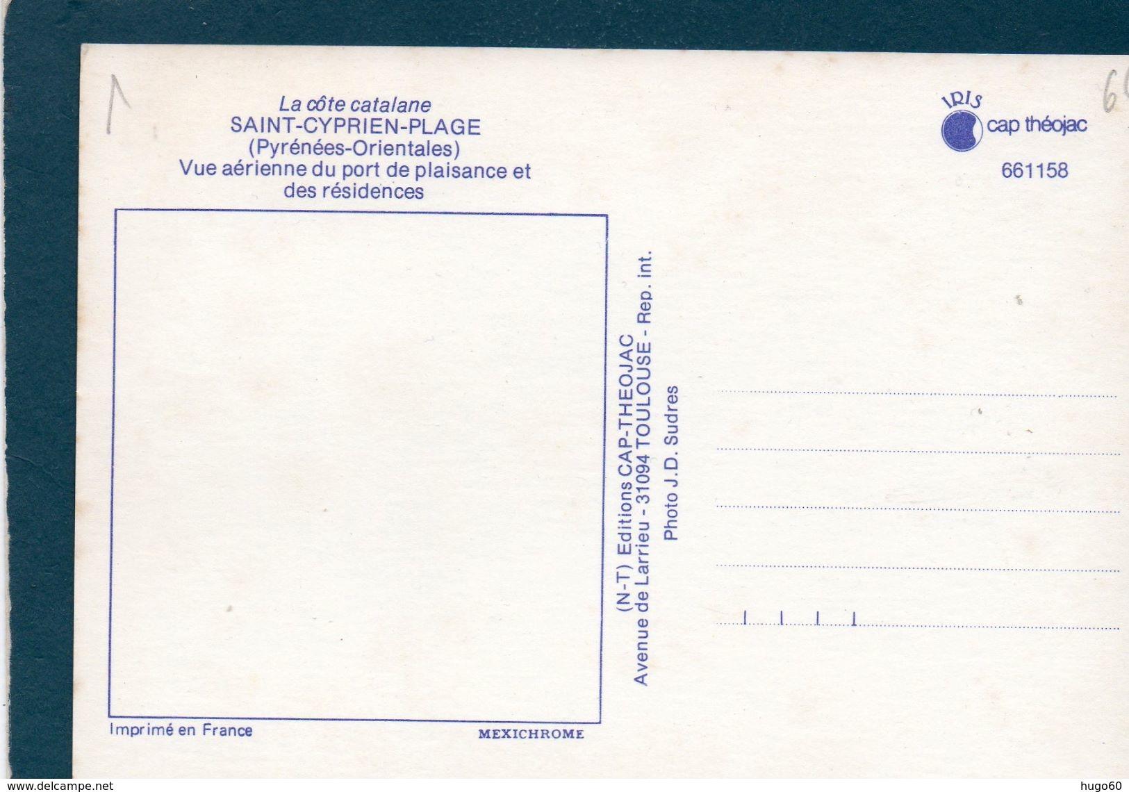 SAINT-CYPRIEN-PLAGE - Vue Aérienne Du Port De Plaisance Et Des Résidences - Saint Cyprien