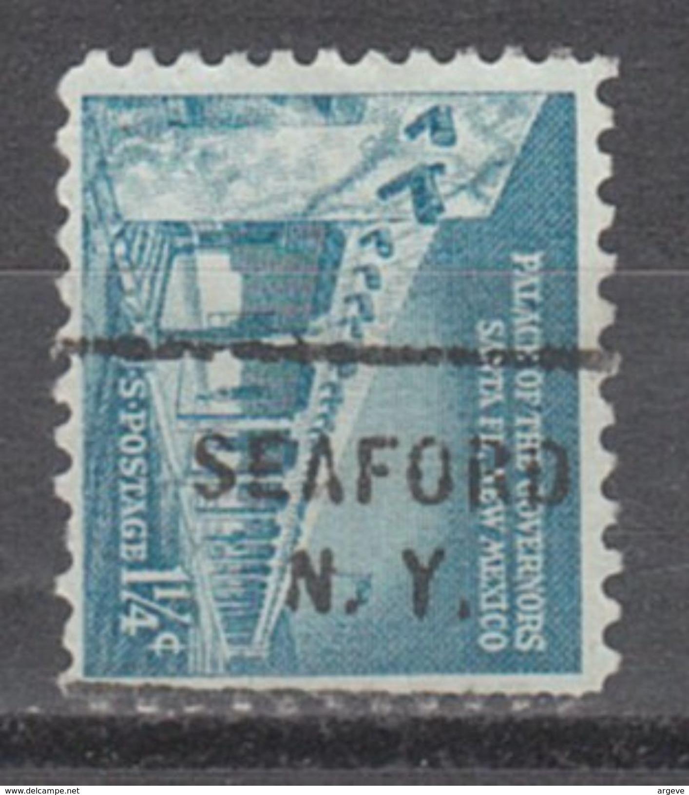 USA Precancel Vorausentwertung Preo, Locals New York, Seaford 712 - Vereinigte Staaten