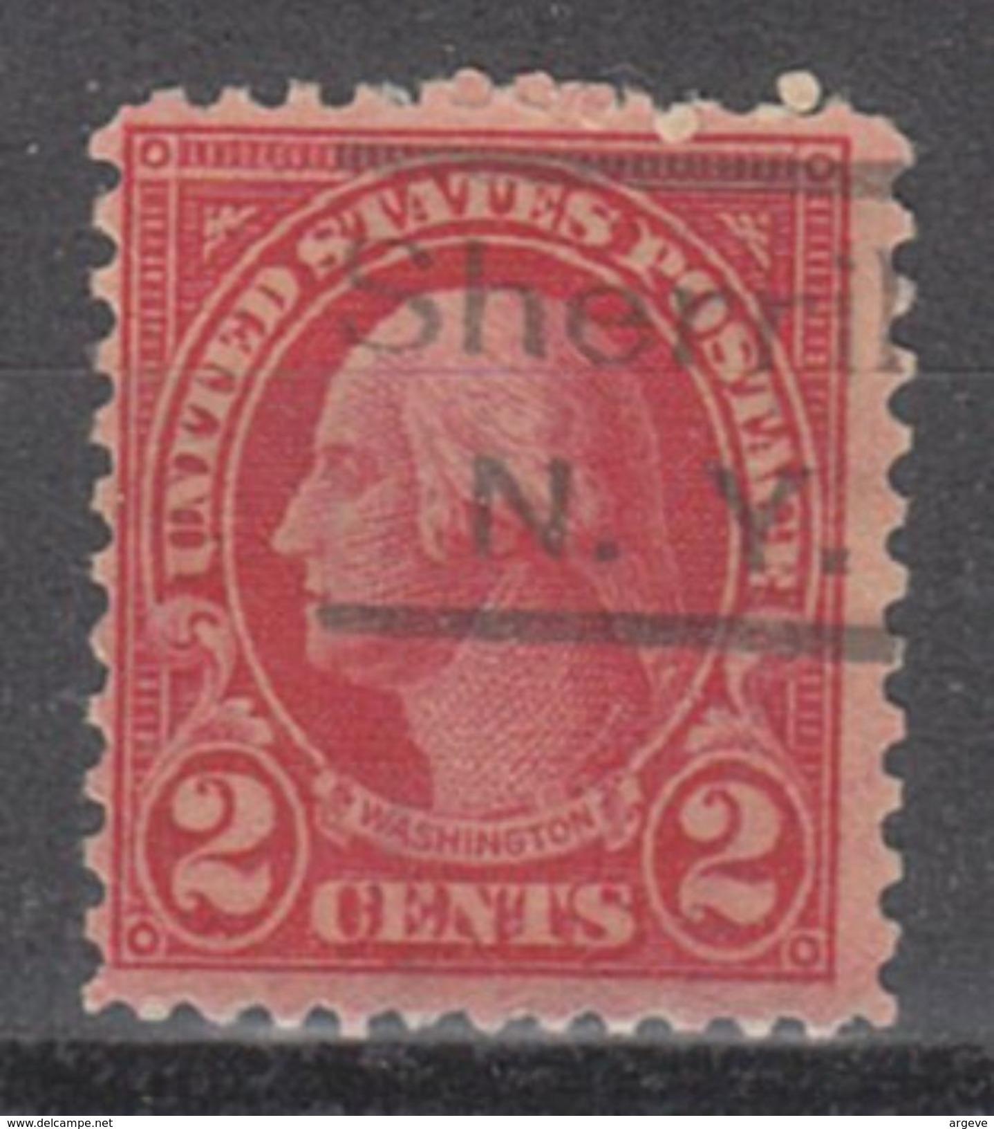 USA Precancel Vorausentwertung Preo, Locals New York, Sherrill 634-523 - Vereinigte Staaten