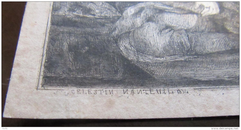 Célestin Nanteuil - Femmes D'Alger, D'après Un Tableau D'Eugène Delacroix - 1834 - Achat Immédiat - Prints & Engravings