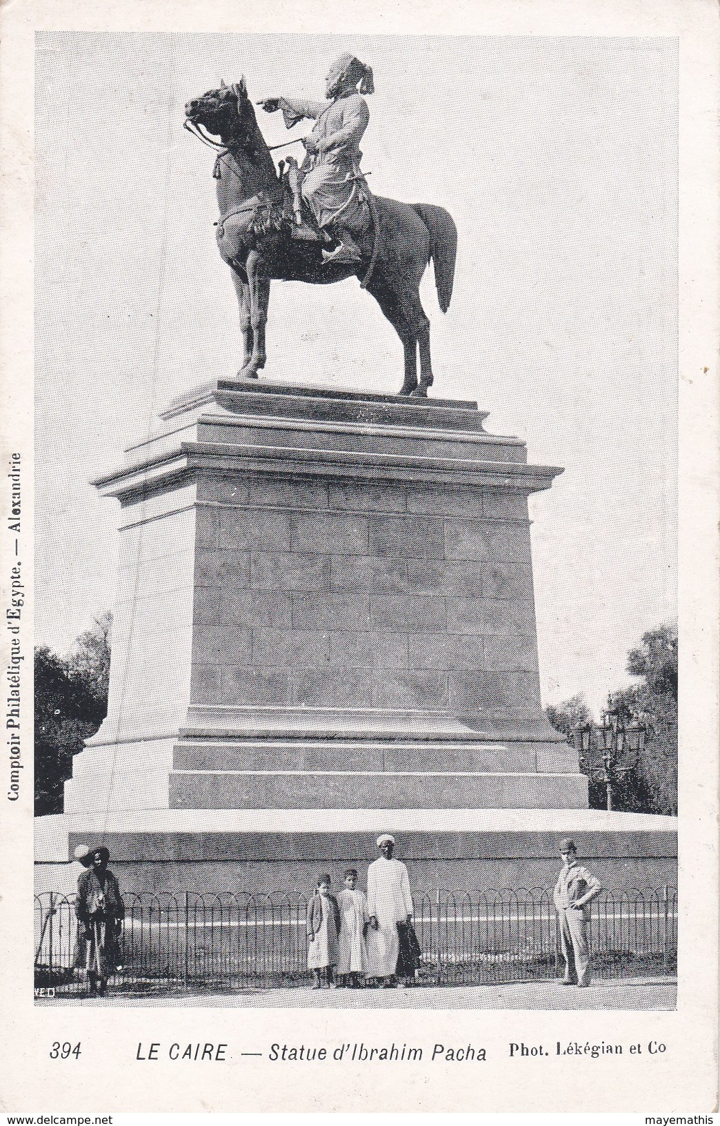 Le Caire Statue D'ibrahim Pacha - El Cairo