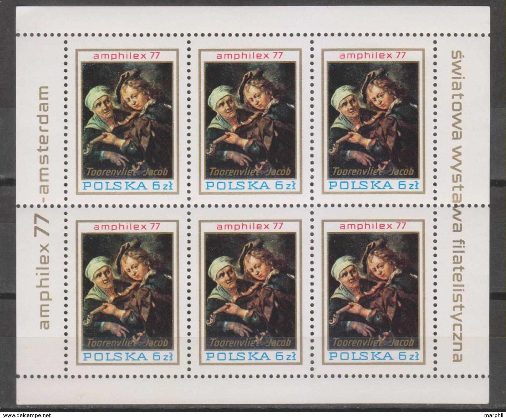 POLONIA 1977 MiN°2506 Blk MNH - Blocks & Sheetlets & Panes