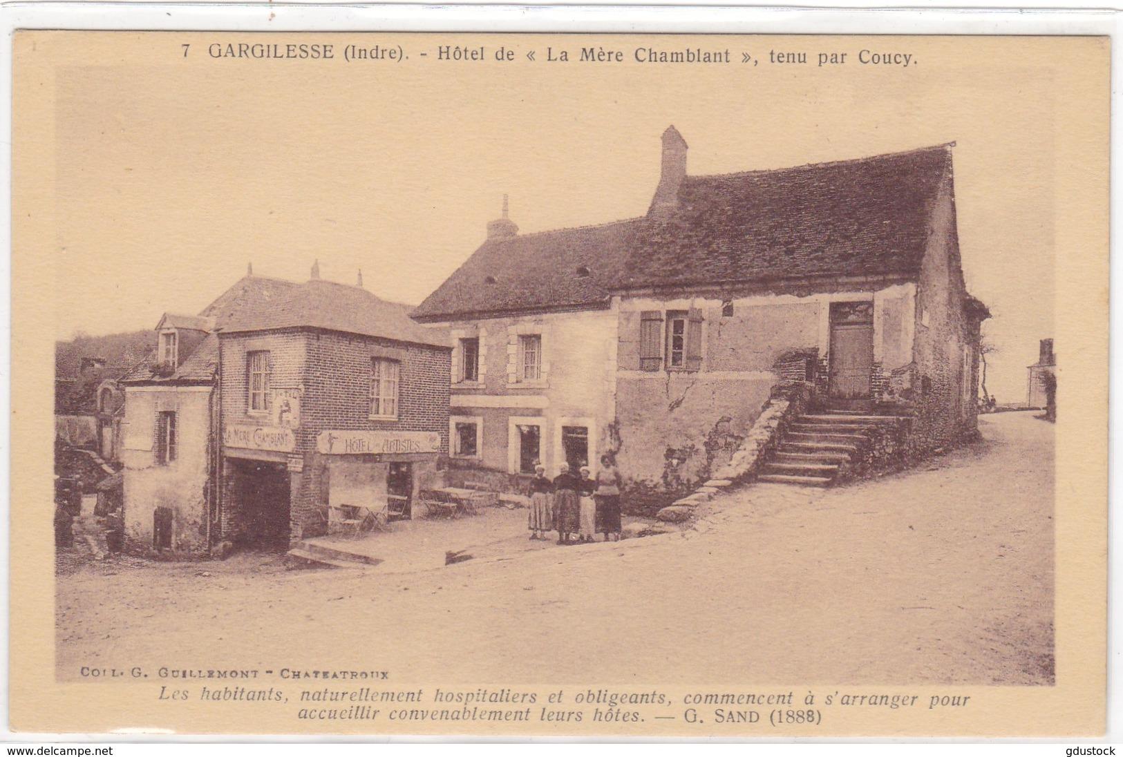 """Indre - Gargilesse - Hôtel De """"La Mère Chamblant"""" Tenu Par Coucy - France"""