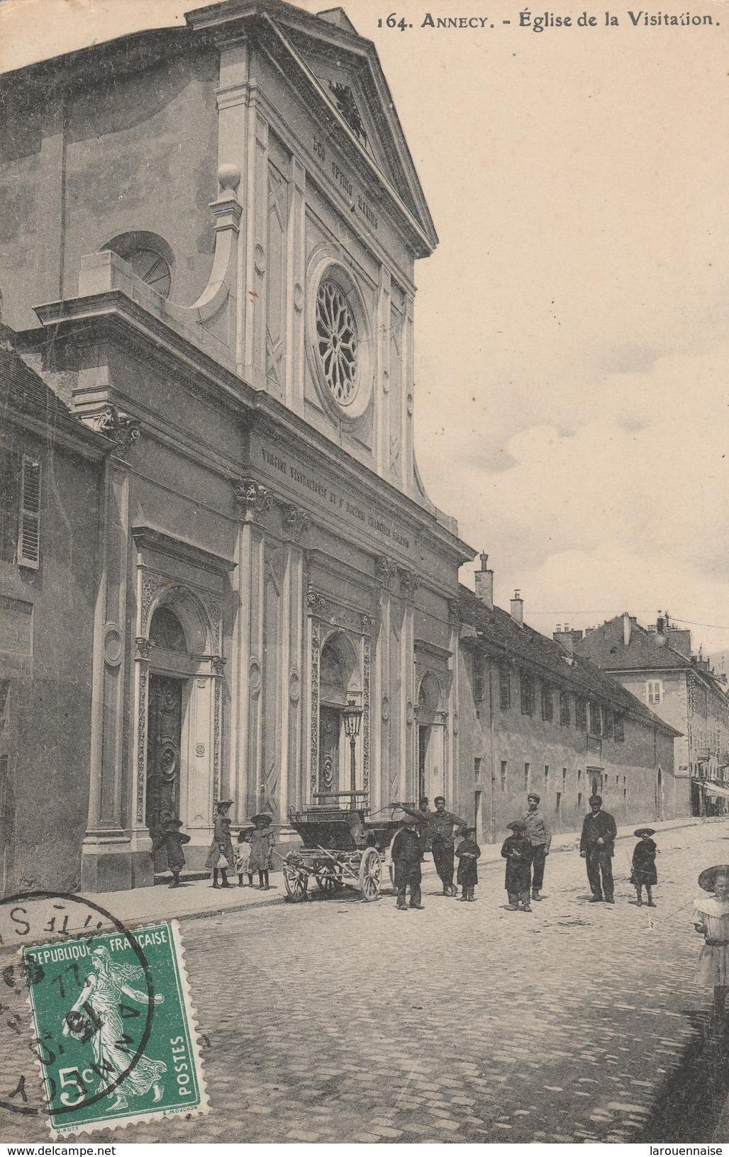 74 - ANNECY - Eglise De La Visitation - Annecy