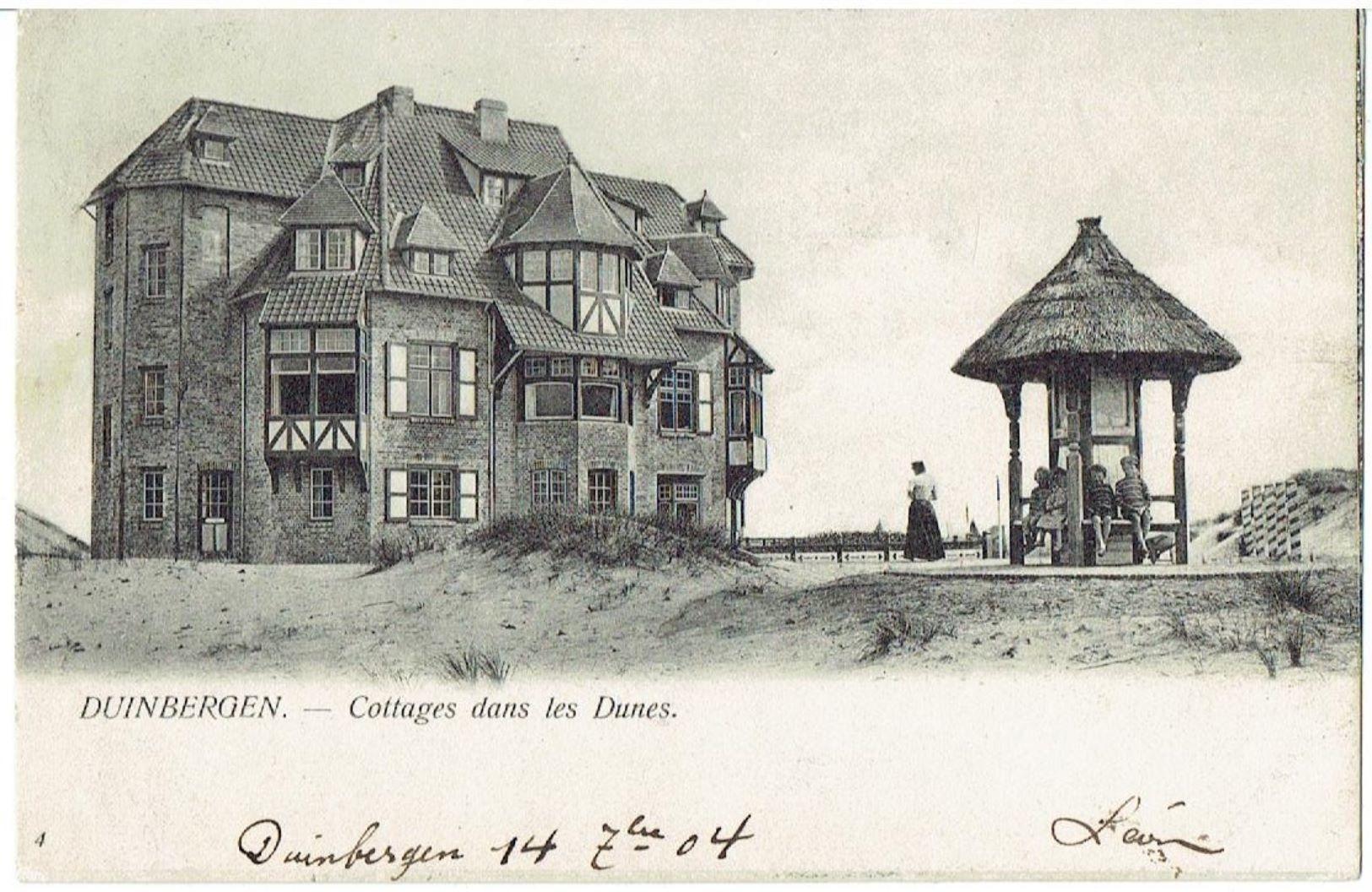 DUINBERGEN - Knokke-Heist - Cottage Dans Les Dunes - Uitg. Baervoets-Van Damme N° 4 - Knokke