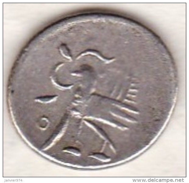 Cambodge . 1/8 Tical (Fuang) ND (1847) . Argent .  KM# 32.1 - Cambodge