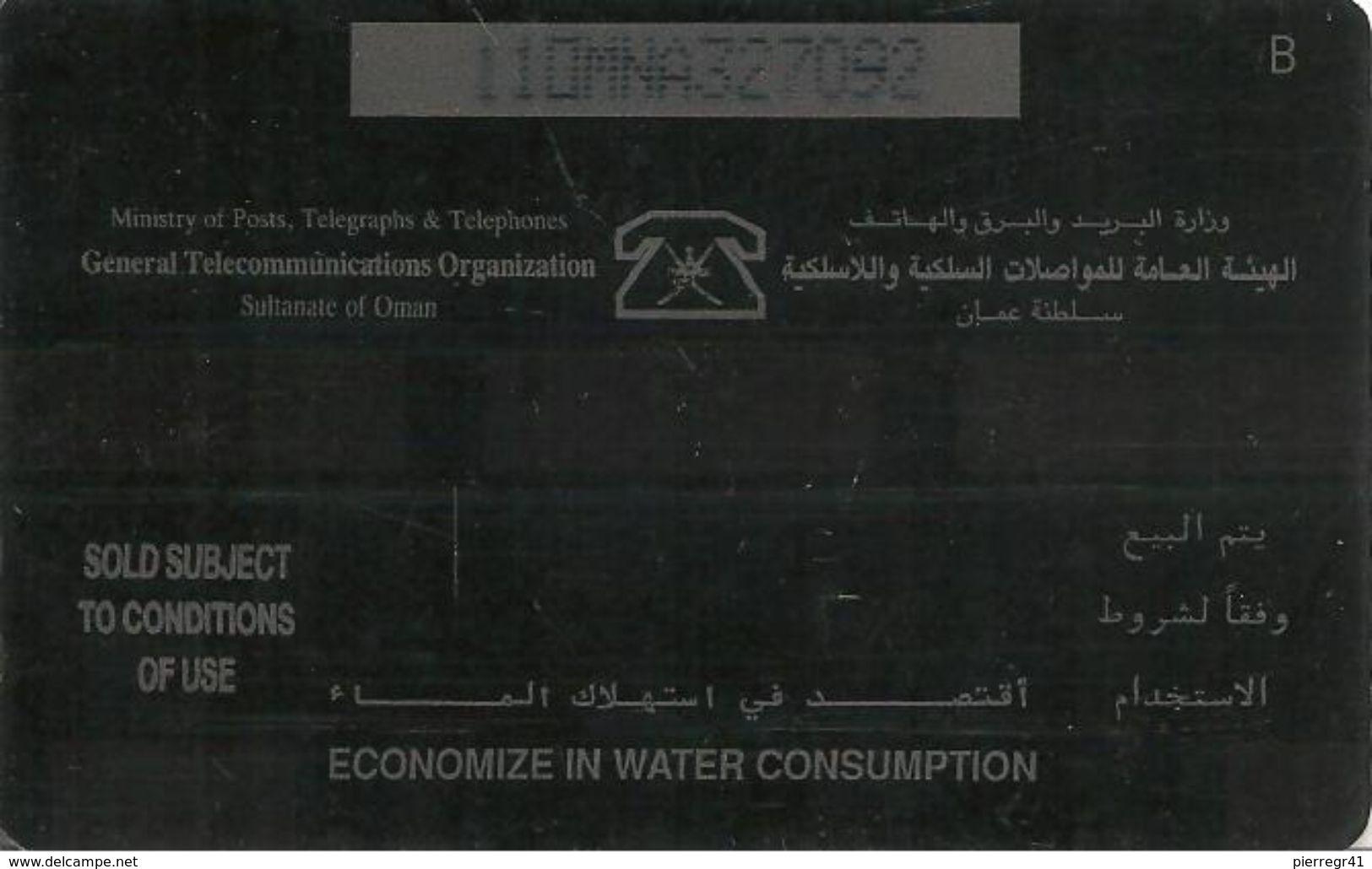 CARTE-MAGNETIQUE-OMAN-JABRIN FORT-BE - Oman
