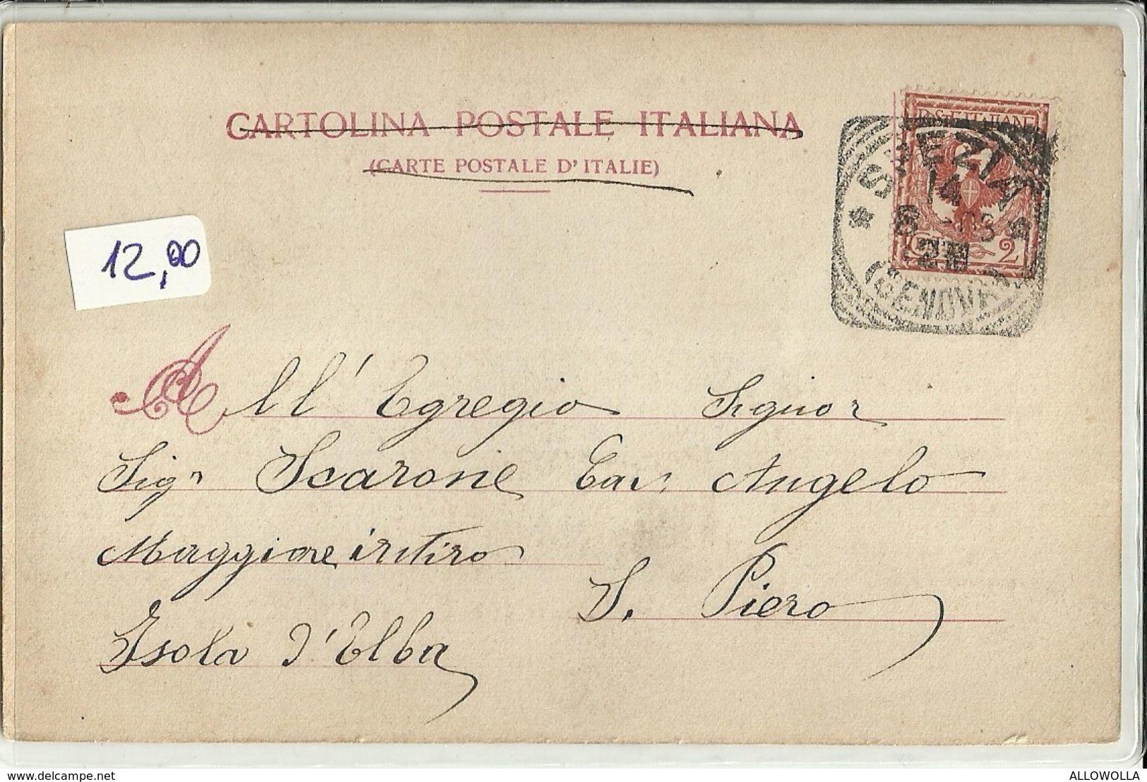 """332 - """"REGINA MARGHERITA - NAVE DA BATTAGLIA DI 1° CLASSE """" CARTOLINA ORIGINALE - SPEDITA - Guerra"""