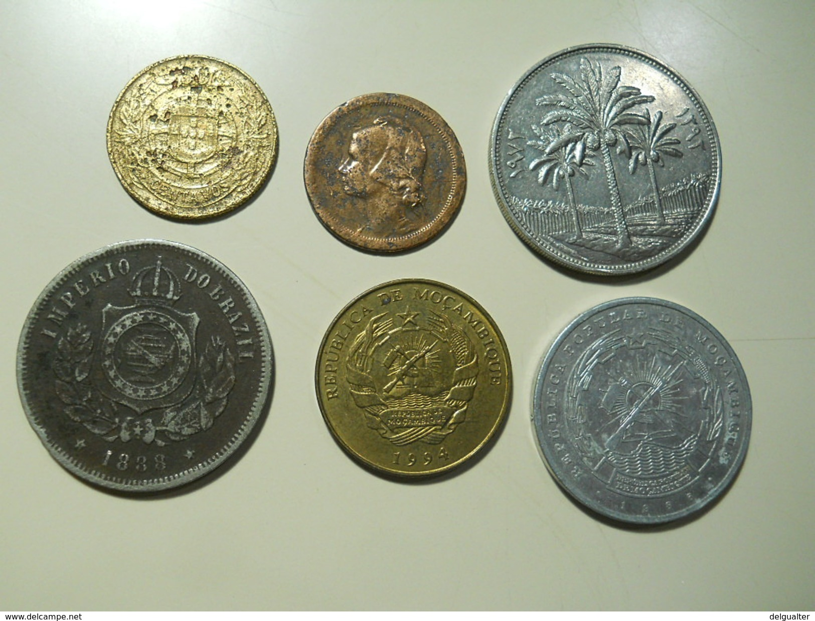 6 Coins - Kilowaar - Munten