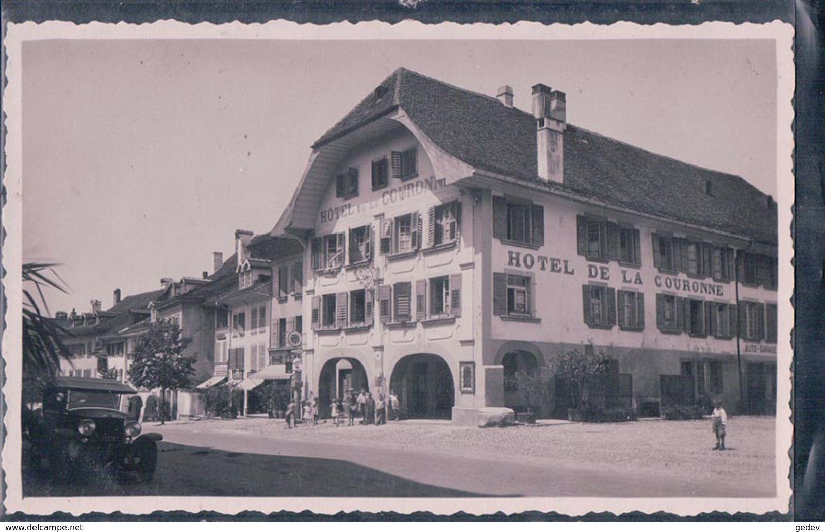 Avenches, Hôtel De La Couronne, Automobile (299) - VD Vaud