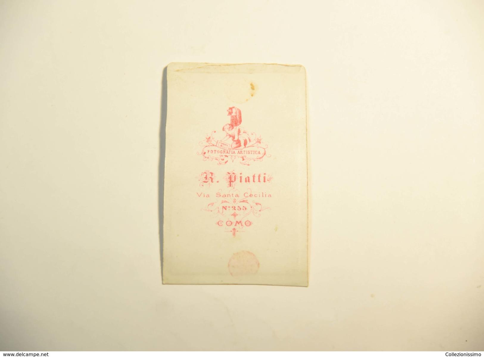 Fotografia Cartonata R. Piatti - Como - Zonder Classificatie