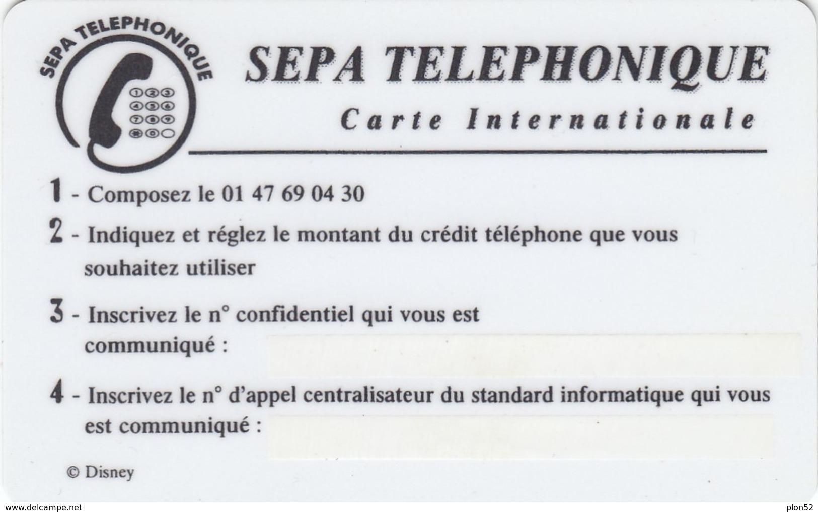 11431 - N°. 4 PREPAGATE- PINOCCHIO-FARFALLE-AEREI-TRENI-USATE - Telefonkarten