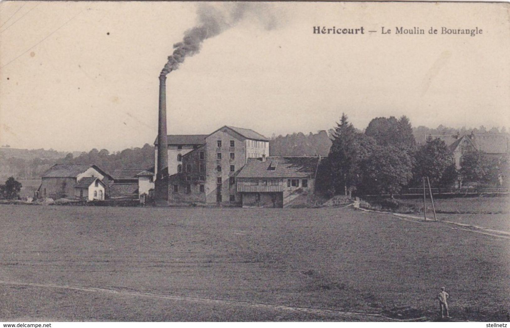 Alte Ansichtskarte Aus Héricourt -Le Moulin De Bourangle- - Otros Municipios
