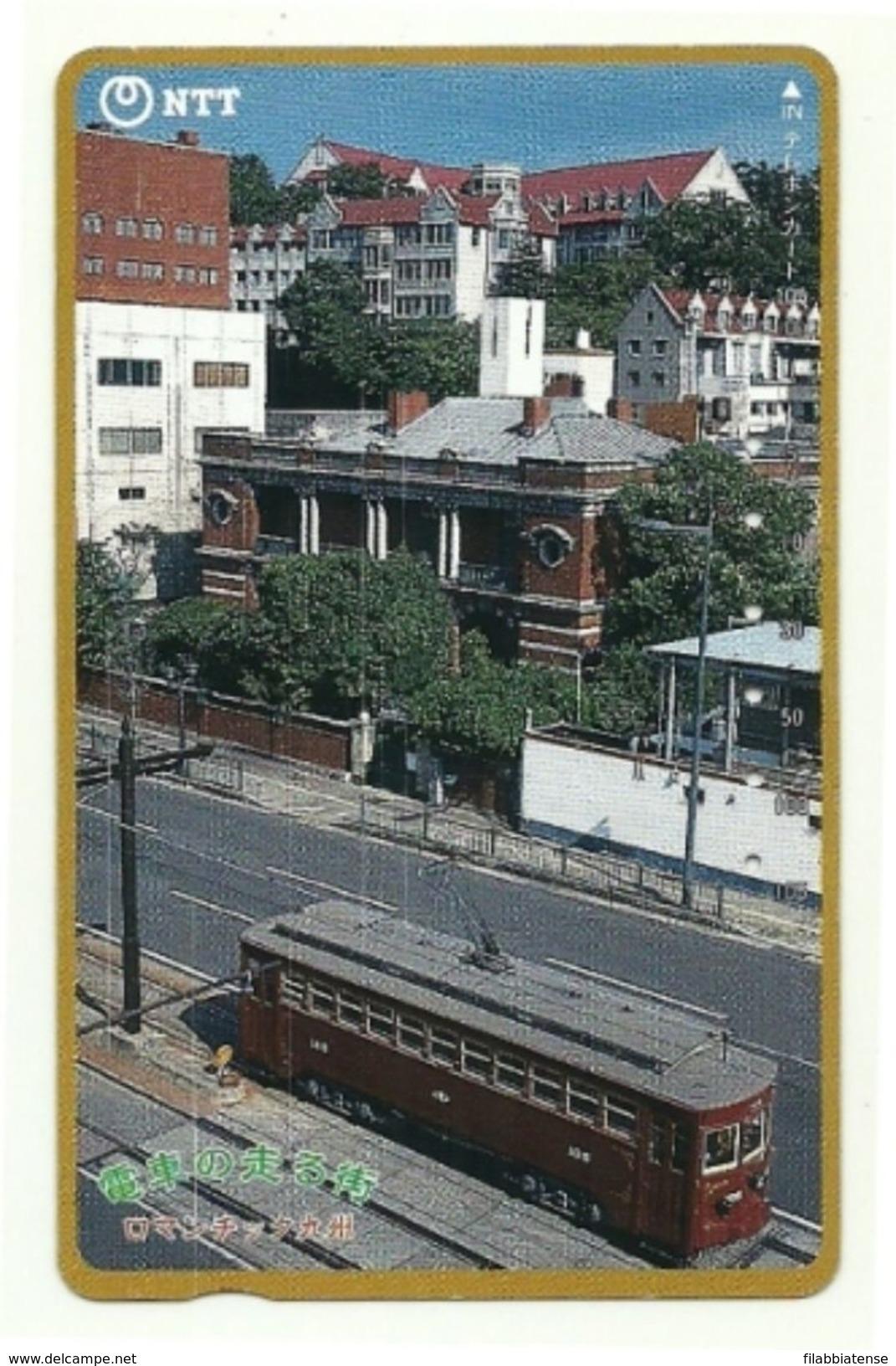 Giappone - Tessera Telefonica Da 105 Units T346 - NTT, - Treni