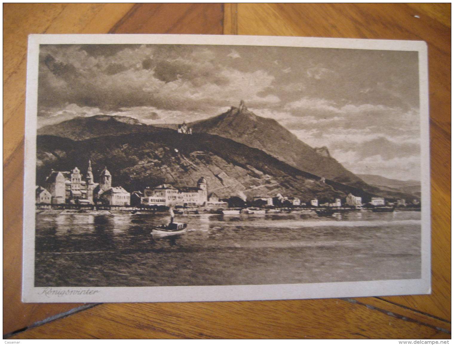 KONIGSWINTER Post Card North Rhine Westphalia Koln Rhein Sieg Kries Germany - Koenigswinter