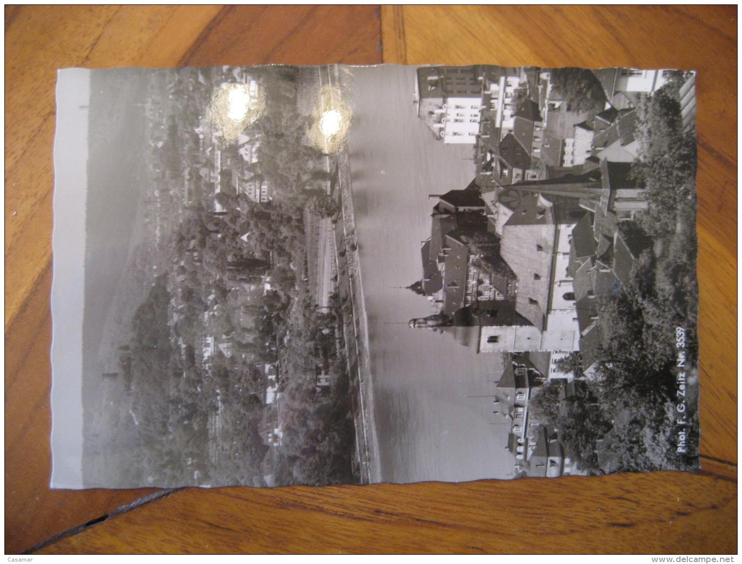KONIGSWINTER Bad Godesberg Godesburg Post Card North Rhine Westphalia Koln Rhein Sieg Kries Germany - Koenigswinter