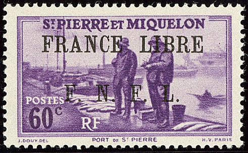 ** France-Libre. No 258, Case 12, Très Frais. - TB. - R - Unclassified