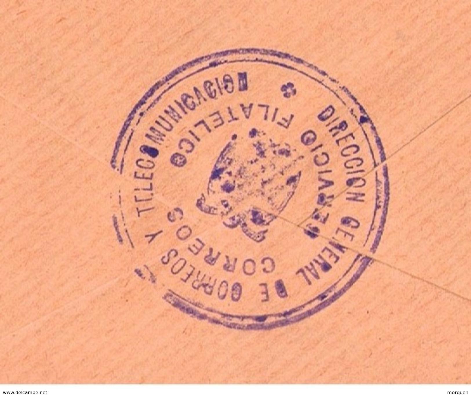 26938. Carta  MADRID 1974. Servicio Filatelico. Exposicion Mundial Filatelia - 1931-Hoy: 2ª República - ... Juan Carlos I