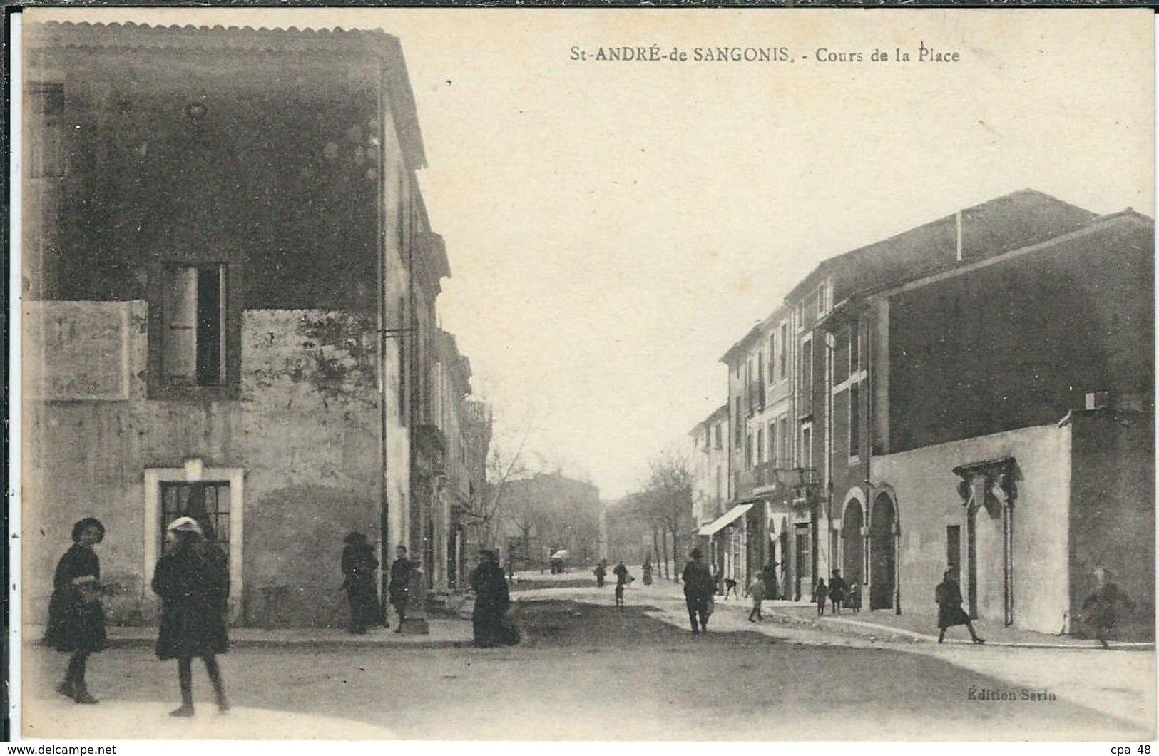 Herault, St André De Sangonis, Cours De La Place - Other Municipalities