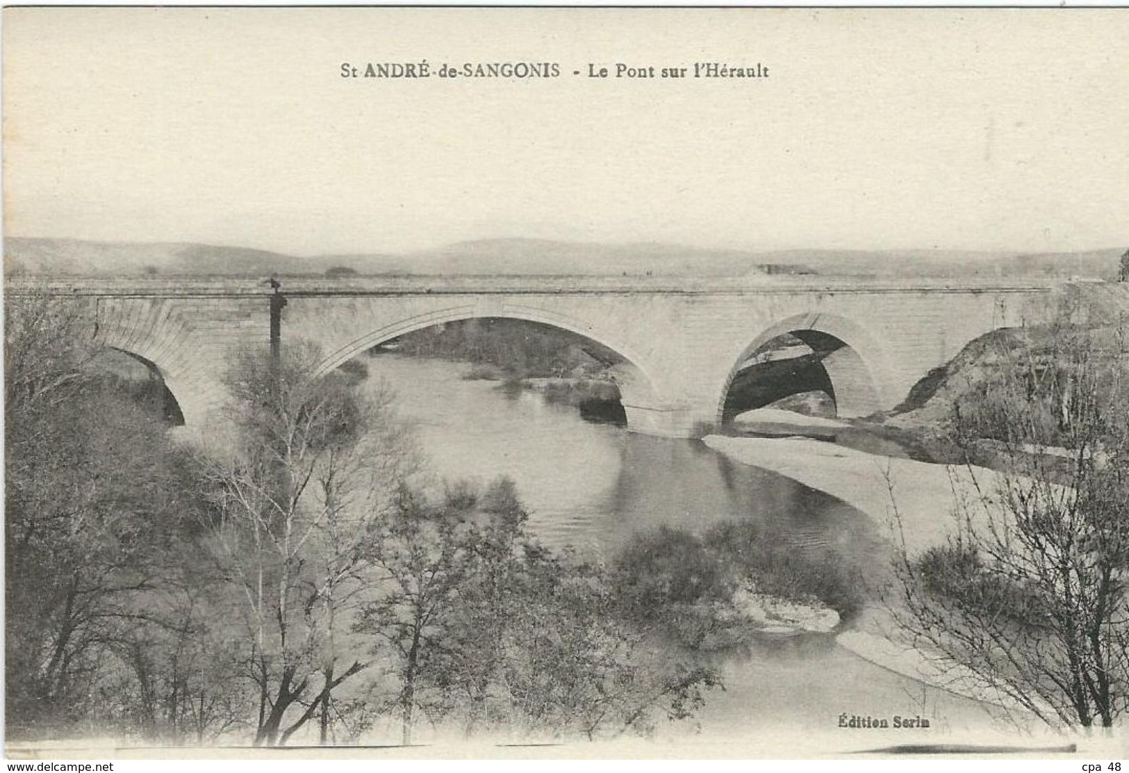 Herault, St André De Sangonis, Le Pont Sur L'Herault - Other Municipalities